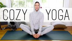 Cozy Yoga is the ultimate at home yoga practice for the whole family! All bodies and all types welcome for this gentle 40 min Yoga With Adriene (and Benji) practice designed to help you balance Free Yoga Videos, Home Yoga Practice, Yoga With Adriene, Crossfit Motivation, Crossfit Gym, Yoga Youtube, Online Yoga Classes, Advanced Yoga, Relaxing Yoga