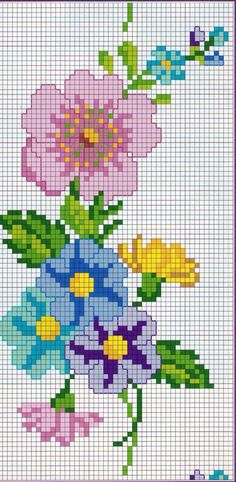 This post was discovered by Maribelle Carvajal Barboza. Discover (and save!) your own Posts on Unirazi. Cross Stitch Bookmarks, Mini Cross Stitch, Beaded Cross Stitch, Cross Stitch Borders, Cross Stitch Rose, Modern Cross Stitch, Cross Stitch Flowers, Cross Stitch Designs, Cross Stitching