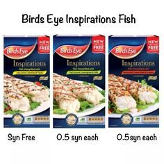 Fish infusions low syn slimming world