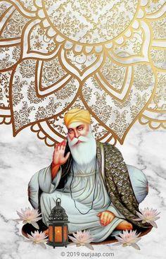 Guru Angad Dev Ji, Guru Nanak Ji, Nanak Dev Ji, Guru Granth Sahib Quotes, Shri Guru Granth Sahib, Sikh Quotes, Gurbani Quotes, Guru Nanak Jayanti Wishes, Guru Nanak Photo