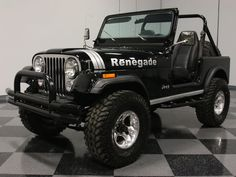 Thousands of classic cars, hot rods, exotics and collectibles in stock. Cj Jeep, Jeep Cars, Jeep 4x4, Jeep Truck, Jeep Willys, Jeep Cj7 Renegade, Patrol Y61, Mini Jeep, Jeep Scrambler
