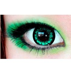 EOS Candy Magic King Size Green Circle Lenses Colored Contacts Cosmetic Color Circle Lens | EyeCandy's
