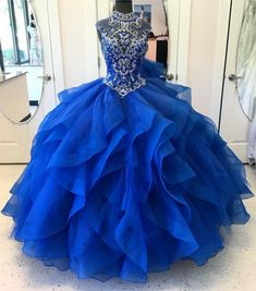 Royal Blue Quinceanera Dresses ideas