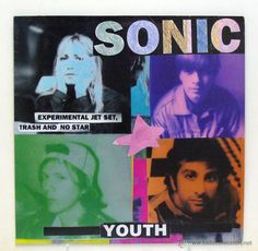 SONIC YOUTH - 'EXPERIMENTAL JET SET, TRASH AND NO STAR' (LP VINILO AZUL. ORIGINAL 1994. ALEMANIA) (Música - Discos - LP Vinilo - Pop - Rock Extranjero de los 90 a la actualidad)