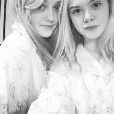 Dakota y Ellen Fanning