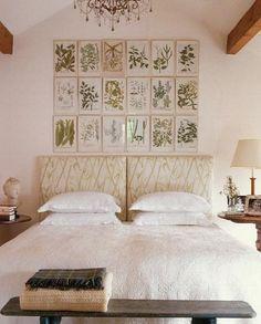 I love the botanical prints on the walls.