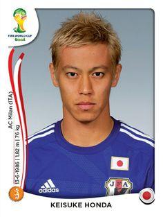 253 Keisuke Honda - Japón - MUNDIAL BRASIL 2014