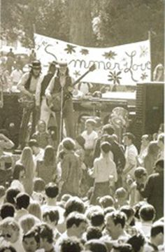 On January 14, 1967 the Human Be-In event was held in Golden Gate State Park in San Francisco. This event, which received extensive media coverage from the major networks, popularized the hippie culture throughout the United States and led to the legendary Summer of Love on the West Coast. 3,000 hippies were expected but 30,000 hippies showed up and gathered in San Francisco's Golden Gate Park to celebrate the hippie culture.