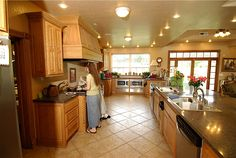 big kitchen for a big family!