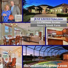 NEW LISTING! Stunning executive home in prestigious Stoney Brook Farm. Call Ron… Indian River County, Vero Beach Fl, Treasure Coast, Virtual Tour, Coastal Living, Real Estate, Tours, Spaces, Vero Beach Florida