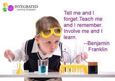 Teaching Children how to learn. #benfranklin #learn #education #STEM #science #teacher #kids
