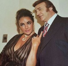 One time Gambino captain Greg DePalma and Liz Taylor.