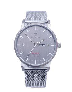 Hodinky TRIWA Dusk Klinga Steel Mesh 4799 Kč Steel Mesh, Dusk, Watch, Design, Clock, Bracelet Watch, Clocks
