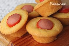 Minimuffin de Salsicha