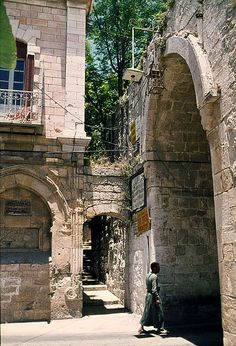 LOVE being in the city of Jerusalem.  I would go back in a heart beat! LOVE! Lions Gate Jerusalem, ISRAEL