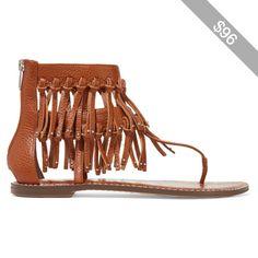 Sam Edelman Griffen fringed leather sandals