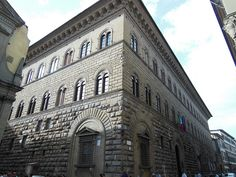Palacio Médici-Ricardi Louvre, Street View, Building, Photography, Travel, Florence, Renaissance, Palaces, Artists