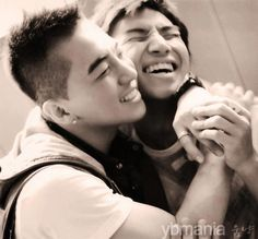 Youngbae & Daesung--love their eye smiles!