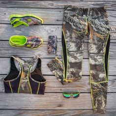 New Realtree Camo Activewear Sportswear. I don't like camo but for some reason I think this is really cute Country Girl Style, Country Fashion, Country Outfits, Country Girls, My Style, Country Prom, Country Life, Camo Outfits, Sporty Outfits