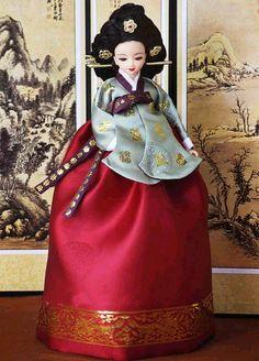 Korean hanbok - 정경부인