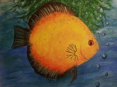 my discus painting