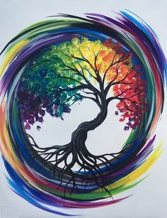 Join us for a Paint Nite event Tue Mar 2018 at 84 Boston Turnpike Shrewsbury. Join us for a Paint Nite event Tue Mar 2018 at 84 Boston Turnpike Shrewsbury, MA. Purchase your Tree Of Life Painting, Tree Of Life Artwork, Rock Art, Painting Inspiration, Painting & Drawing, Figure Drawing, Watercolor Art, Watercolor Tattoo Tree, Amazing Art