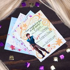 Free Tangled printables, invitations and more