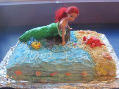 Coolest Little Mermaid Ariel Birthday Cake... Coolest Birthday Cake Ideas