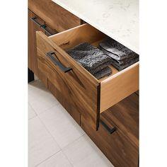 Brooklyn Max Denning 36 In Offset Single Sink Bathroom Vanity