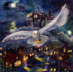 Potter's Owl by kakao-bean.deviantart.com on @deviantART
