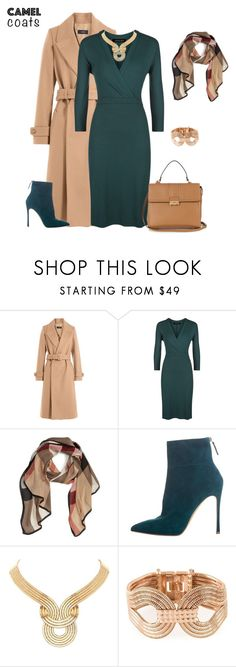 """""""outfit 4897"""" by natalyag ❤ liked on Polyvore featuring Joseph, Jaeger, Burberry, Gianvito Rossi, Lara Bohinc and Lanvin"""