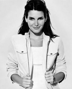 I know she's super conservative...but that voice?  She could talk to me all day long.  I'd say she could read me the phone book but I don't even know if they still make those... <3 Angie Harmon