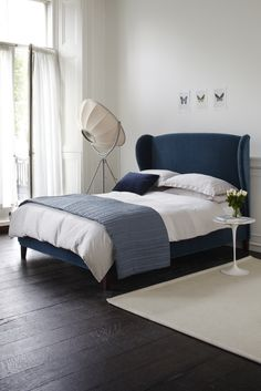 The Angelica double bed in Turquoise £845  http://www.sofa.com/shop/beds/upholstered-beds/inferno#220-CMVTUR-0-0