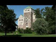 Santatelevision tourism videos: Summer of Turku in Finland tourism video – Finnish archipelago travel film – Turku Summer tourism. Helsinki, Turku Finland, Lapland Finland, Cities In Finland, Castle Project, Travel Videos, Medieval Castle, Baltic Sea, Old City