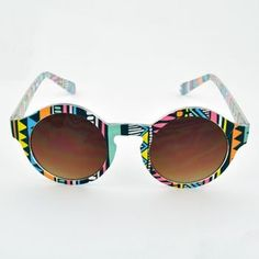 Zippy Professor Sunglasses $6 || This pair of wild sunglasses are the perfect way to capture the fun of summer. The bold, colorful graphics are a real attention-getter, complete with 100% UV protective lenses.