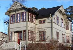 Discover recipes, home ideas, style inspiration and other ideas to try. Building Extension, Scandinavian Cottage, House Built, My Dream, My House, Sweet Home, New Homes, Castle, Mansions