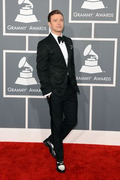 Justin Timberlake in Tom Ford was the most buzzed about man at the Grammys
