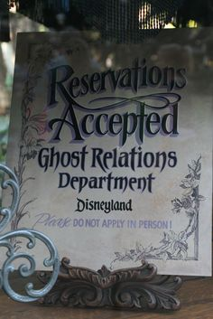 Haunted Mansion Reservations are always accepted. Drag your body in for more information