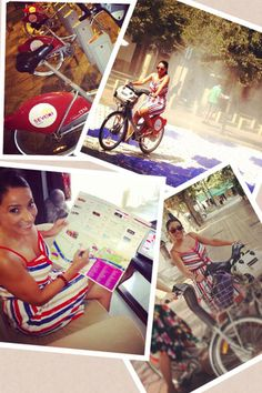 Sevici bikeshare, Sevilla, Spain + GiveLoveCycle #cycle #accessory #cyclestyle