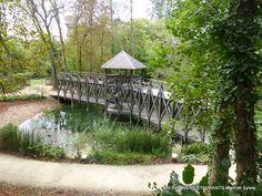 Château du Clos Lucé(37)-Le pont à double niveaux de Léonard de Vinci!