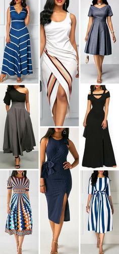 dresses for fall, cute, classy, modest, dressy. Free shipping worldwide at rosewe.com. #dressesforwomen