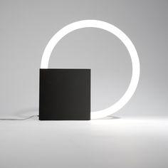 Cirkellamp design Aldo van den Nieuwelaar 1968 / Produced by QC lightfactory - The Netherlands