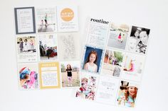 Kindergarten pages | @kelseyespecially  #projectlife #documentschool