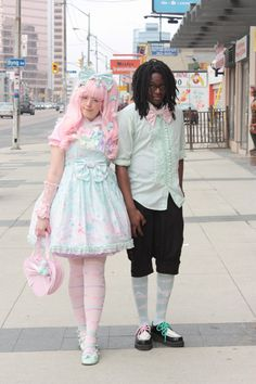 Cadney and her boyfriend back in 2012....wish I could get mine to dress up :p