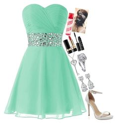 """Outfit No.23"" by amazin-maze on Polyvore featuring Amanda Rose Collection, Dolce&Gabbana, NARS Cosmetics, Pink Sugar, Prom, classy, outfits and partystyle"