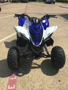 new 2017 yamaha raptor 90 team yamaha blue white atvs for sale in texas