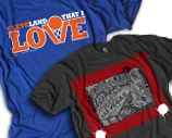 GV ART + DESIGN CUSTOM T SHIRTS even if your not from Cleveland the artwork is way cool
