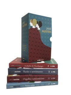 Jane Austen, caixa especial com 4 livros, na loja Livros da Amazon.com.br