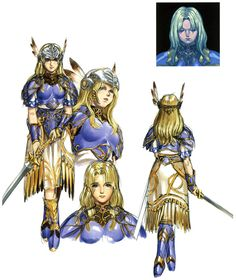 Valkyrie Profile - Kou Yoshinari, You Yoshinari