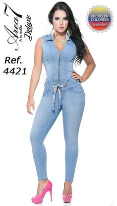 4421EP-N JEANS LEVANTACOLA SIZE 7  12 COL
